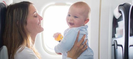 Vacances en compagnie de bébé